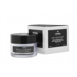 ACTIVO ANTI-EDAD con nuez de Grenoble, aminoácidos y protector solar, para todo tipo de piel 50ml