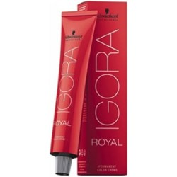TINTE IGORA ROYAL 60ML CABEZA NEGRA